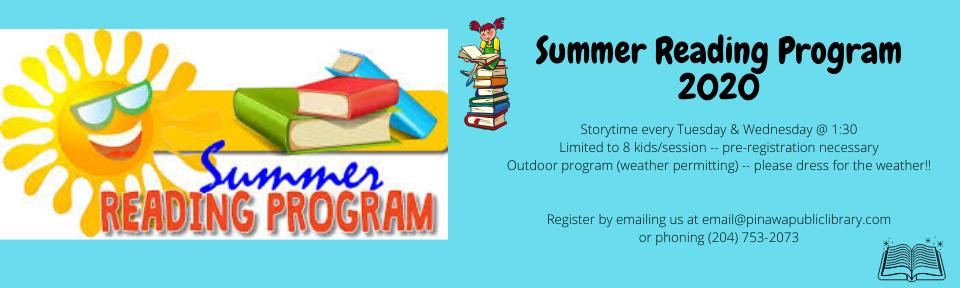 Children's Summer Reading Program 2020